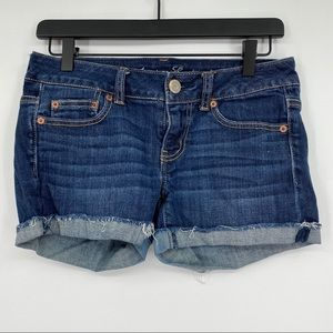 American Eagle outfitters AEO jean shorts size 4